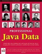 Professional Java Data: RDBMS