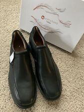 Unstructured By Clarks Un Ramble Step Slip-On Shoes Men 14/15 Medium Black