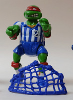 Vintage Teenage Mutant Ninja Turtles TMNT - Shell Kickin' Raph w/ net