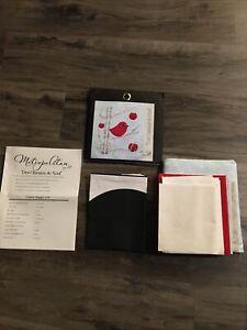 """Quilt Kit And Fabric Bundle Complete Metropolitan """"Des Oiseaux De Noel"""" NEW"""