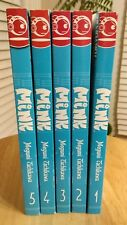 Lot of volumes 1-5 Mink series Megumi Tachikawa manga graphic novels