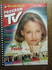 PROGRAM TV 38 (18/9/98) JODIE FOSTER ANTHONY HOPKINS