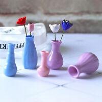 Puppenhaus Mini Vase Zubehör Miniaturen 1:12 Dekorative MiniaturYE