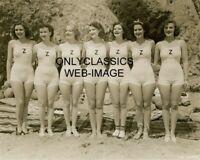 1936 SEXY BATHING BEAUTIES ZIEGFELD FOLLIES GIRLS 8X10 PHOTO SWIMSUIT PINUP GIRL