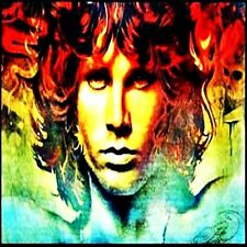 *Jim Morrison The Doors Hippie in/outdoor Vinyl Bumper Sticker Decal Rock n Roll