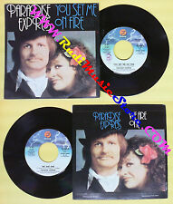 LP 45 7'' PARADISE EXPRESS You set me on fire We are one 1980 italy no cd mc*dvd