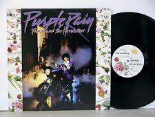 PRINCE Purple Rain ORIG 1984 1st Press LP w/ INNER SLEEVE and Poster NEAR MINT