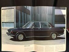 Rare Catalogue 1972 BMW 2500 2800 3.0 S 3.0 Si