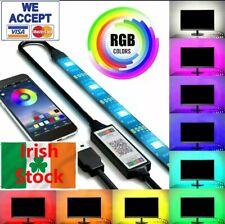 Led TV Light Bluetooth USB Strip 5050 SMD 4m 400cm remote control for PC TV