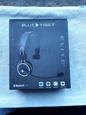 Blue Tiger Elite Black Bluetooth Headset excellent and complete