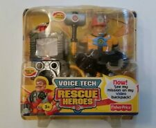 Rescue Heroes Voice Tech Video Mission Jack Hammer Factory Sealed!