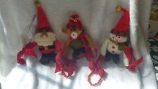 Avon, Holiday Festive Garland, 2011, Santa, Snowman, Bear, New