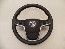 Opel Vauxhall Mokka Lederlenkrad Multifunktionslenkrad 3 Speichen TOP Zustand