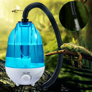 B Blesiya Reptile Fogger Terrariums Humidifier Fog Machine High Volume Fog US Plug