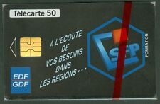 TELECARTE 50 UNITES  EN 581   EDF   CFP    NSB