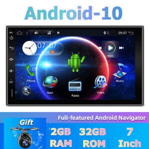 "7"" 2.5D 2 Din Autoradio Android 10 GPS NAVI Stereo DAB+OBD WIFI RDS FM Car Play"