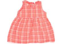 68 80 E21 *NEU*Süßes Träger-Kleid rosa kariert mit Rüschen Gr