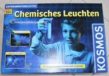 Chemisches Leuchten Experimentierkasten über 20 Teile von KOSMOS  ** NEU **