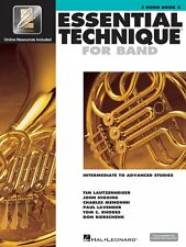 Essential Technique for Band Intermediate to Advanced Studies F Horn 000862627