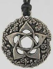 Garden Pentagram Amulet Pendant Necklace!