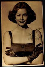 A Arlene Dahl original firmado 17x26,5 # g 10210