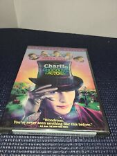Charlie And The Chocolate Factory Dvd Family Movie Johnny Depp New Widescreen