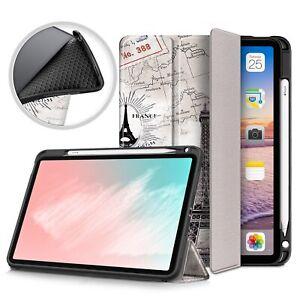 For Ipad Air 4 10.9 ''2020 Case Potlood Houder Magnetische Vouwen Smart Cover