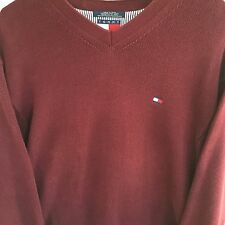 Tommy Hilfiger Mens Sweater Big And Tall 2XL Cotton Sharp