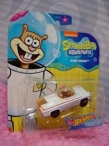 Spongebob Squarepants SANDY CHEEKS #6/6 ✰nickelodeon✰Hot Wheels Character cars