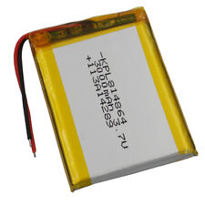 3.7V 3000 mAh Polymer Li ion battery Lipo For ipod PDA DVD GPS Tablet PC  814864