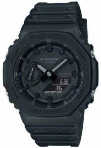 Casio G-Shock Classic Style 200m Water Resistant 11.8 mm Black Watch - GA-2100-1