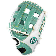 "Pro Teen Buckler Softball, Tlfp1175G 11.75"" Rht Youth Fastpitch Green/White"