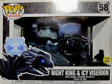 GAME OF THRONES Night King & Icy Viserion - GITD Vinyl Figuren Set - Funko Pop!