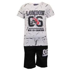 Camisetas de niño de 2 a 16 años de algodón y poliéster