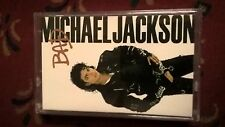 468) - Michael Jackson - Bad - Cassette