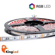 KingLed® Tira LED 24V 300SMD5050 RGB 72W Multicolor Impermeable IP65 0710