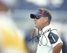 HUGH FREEZE OLE MISS HEAD COACH SUNGLASSES SIGNED AUTOGRAPHED 8X10 PHOTO W/COA