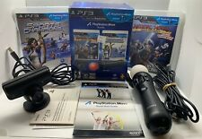 PlayStation Move Bundle for PS3 - Motion Controller, 2 Games, Eye Camera