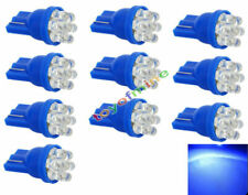 10x Bleu 7-LED T10 voiture Wedge ampoule 194 W5W 168 501