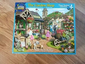 White Mountain 1000 Piece Jigsaw Puzzle - The Garden Shop, white mountain puzzle