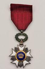 Belgique: Croix de chevalier de l'ordre de la Couronne