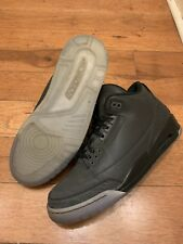 Nike Air Jordan Retro 3 5LAB3 Reflective 3M Black Cement Tinker 11   631603-003