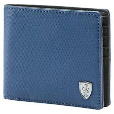 Ferrari Ls Puma  Wallet.Color. Medium Blue Official Supplier Of Scuderia Ferrari