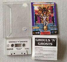 Vintage C64 Commodore Rare Game - Ghouls N Ghosts U S Gold Capcom Arcade