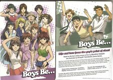 Boys Be Box Set DVD Thinpak (DVD, 2008, 4-Disc Set) BRAND NEW AND SEALED