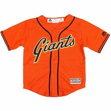 Majestic San Francisco Giants Toddler Orange Official Cool Base Jersey 2t 6fc1e071b