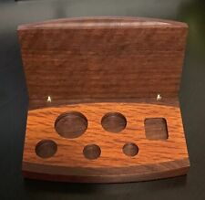2001 The Australian Koala Platinum Australia 5 Coin Proof Set Wood Box Only