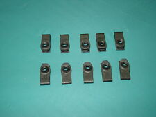 1/4 - 20 U-style clip nuts, deep inset, set of 10 - GM Ford fender, body - USA -
