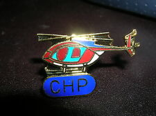 CHP Helicopter California Highway Patrol tie tac  HAT PIN