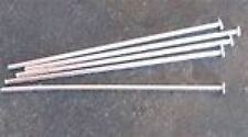 "Argent Sterling 1 1/2 "" 20 Gauge très robuste headpins packof 2"